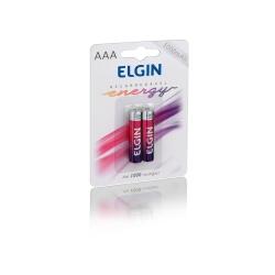 PILHA RECARREGAVEL ELGIM AAA - 1000mAh