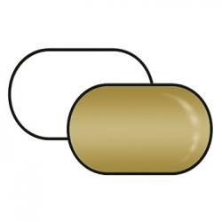 Rebatedor Retangular Ouro Branco-71x122cm