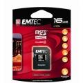 Cartão de Memoria MICROSD EMTEC 16GB