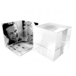 Cubo VD 3D P 3 FOTOS - 6X6CM