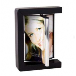 Porta Retrato de Metal Triplo 10x15cm