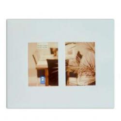 Porta Retrato Duplo de Metal 10x15cm